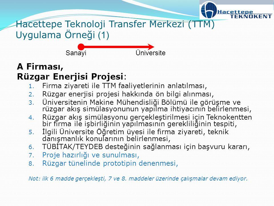 Hacettepe Teknoloji Transfer Merkezi (TTM) Uygulama Örneği (1)