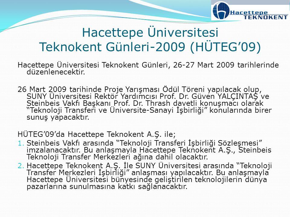Hacettepe Üniversitesi Teknokent Günleri-2009 (HÜTEG'09)