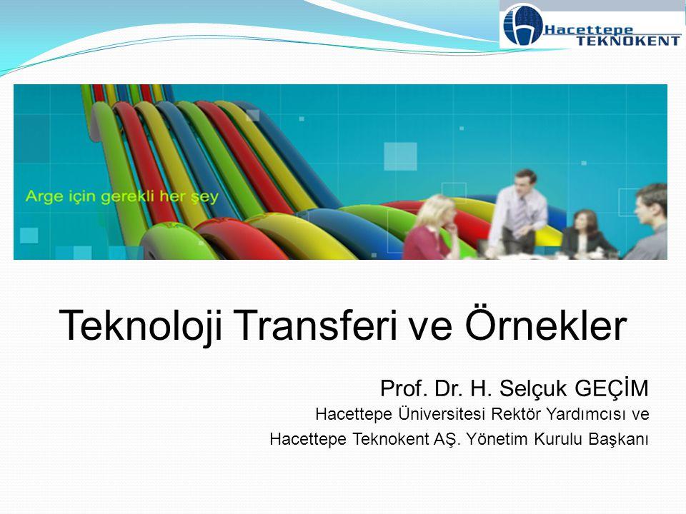 Teknoloji Transferi ve Örnekler