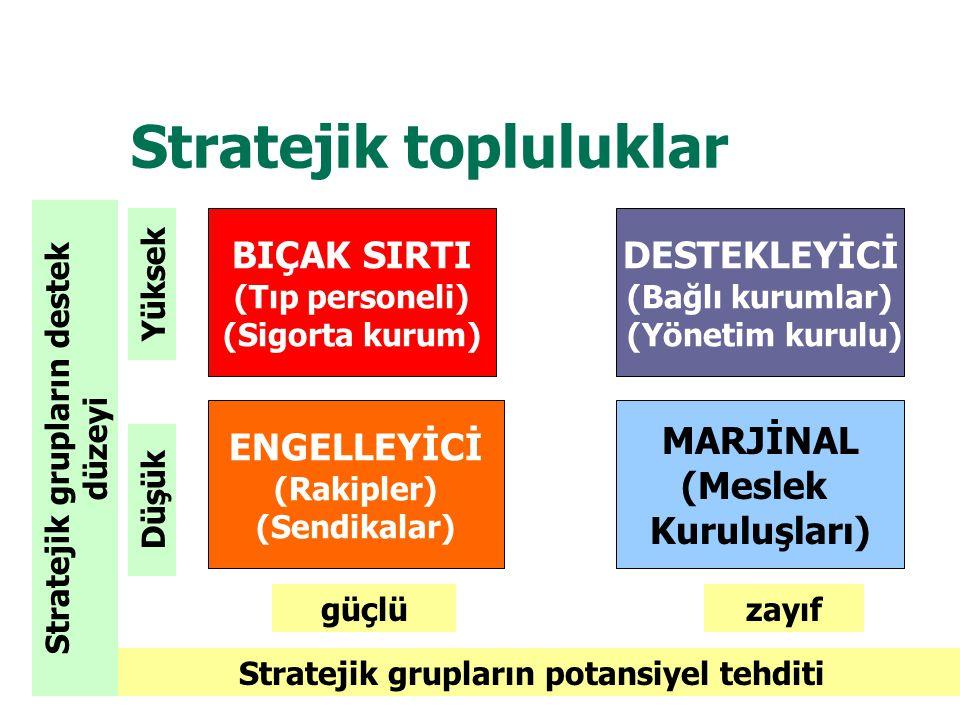 Stratejik topluluklar