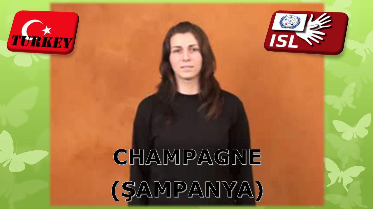 CHAMPAGNE (ŞAMPANYA)