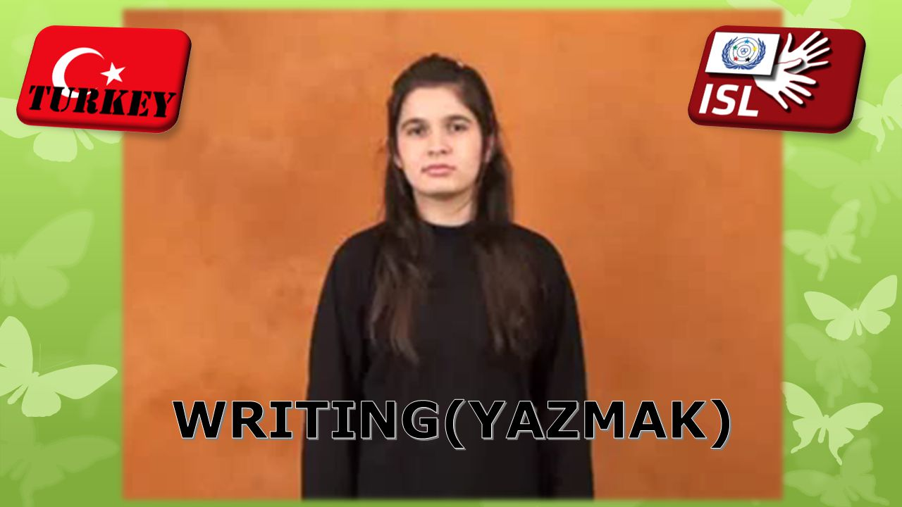 WRITING(YAZMAK)