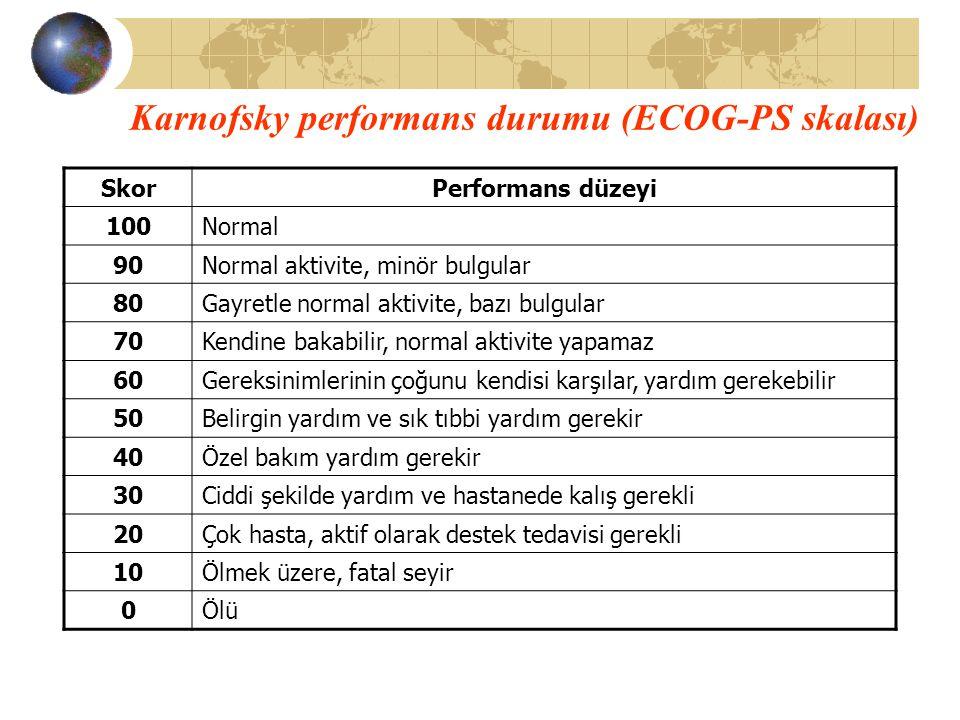 Karnofsky performans durumu (ECOG-PS skalası)