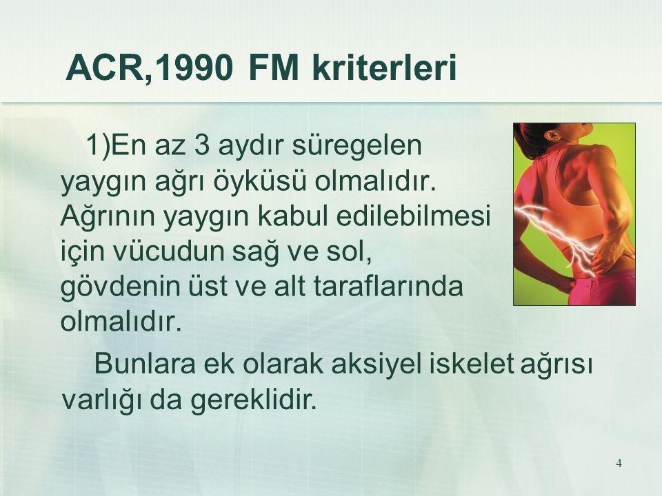 ACR,1990 FM kriterleri