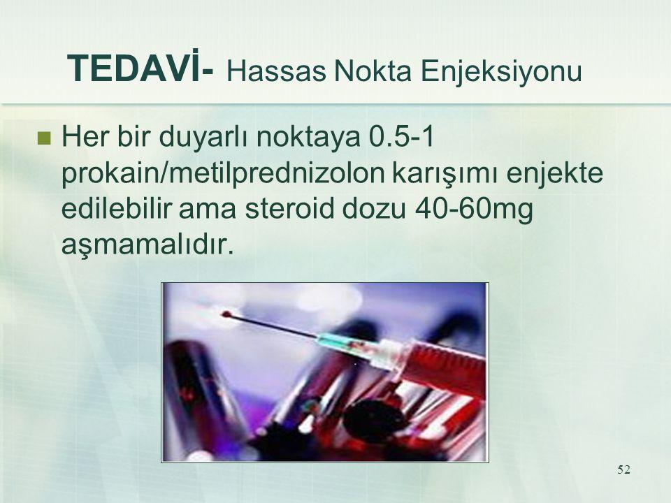 TEDAVİ- Hassas Nokta Enjeksiyonu