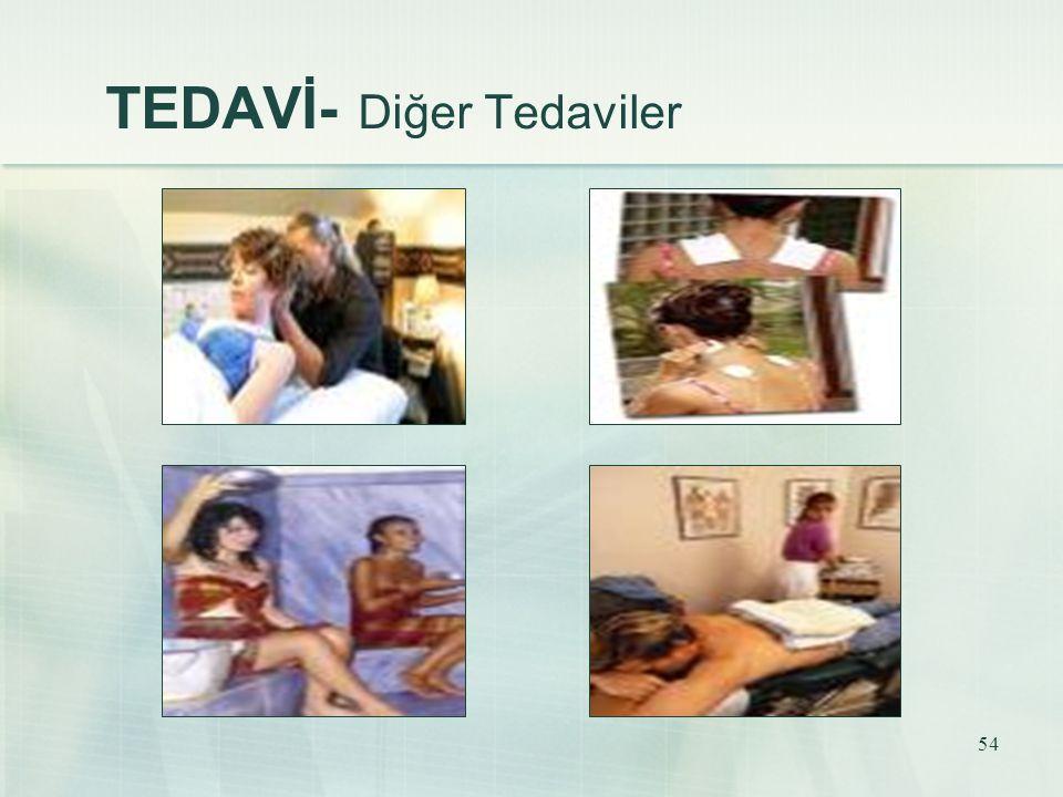 TEDAVİ- Diğer Tedaviler