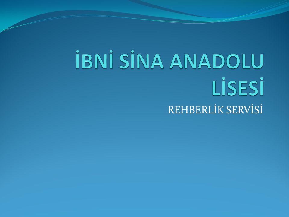 İBNİ SİNA ANADOLU LİSESİ