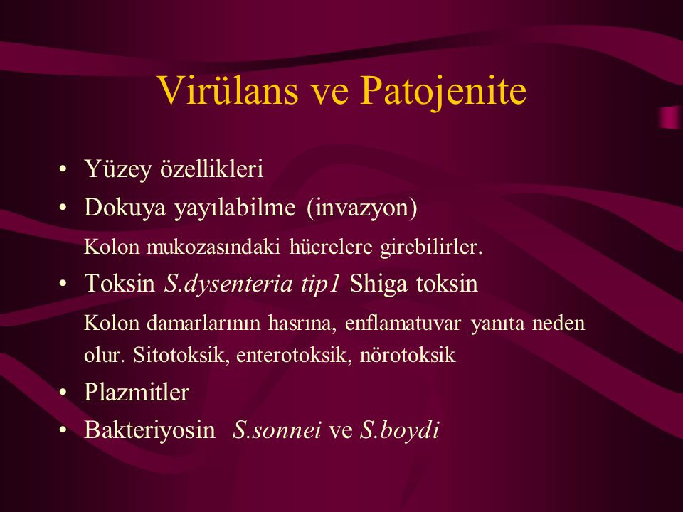 Virülans ve Patojenite