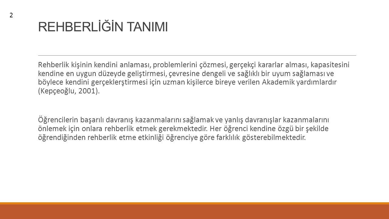 2 REHBERLİĞİN TANIMI.