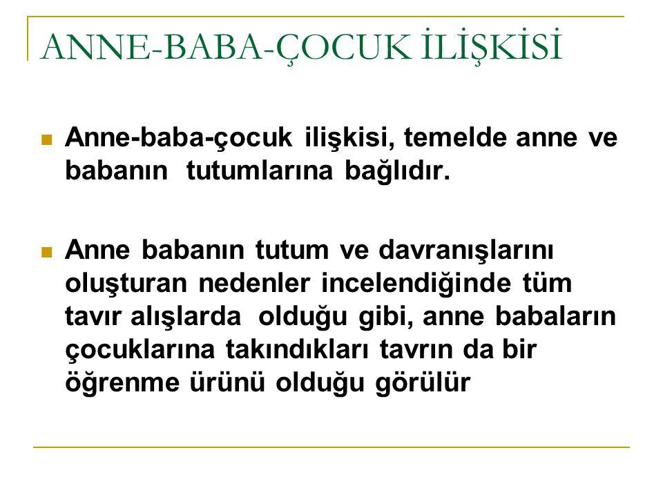 ANNE-BABA-ÇOCUK İLİŞKİSİ