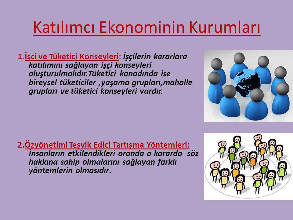 Katılımcı Ekonominin Kurumları