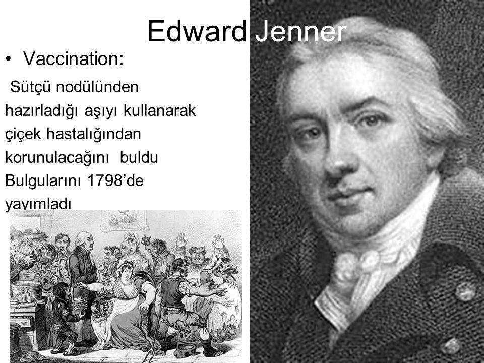 Edward Jenner Vaccination: Sütçü nodülünden
