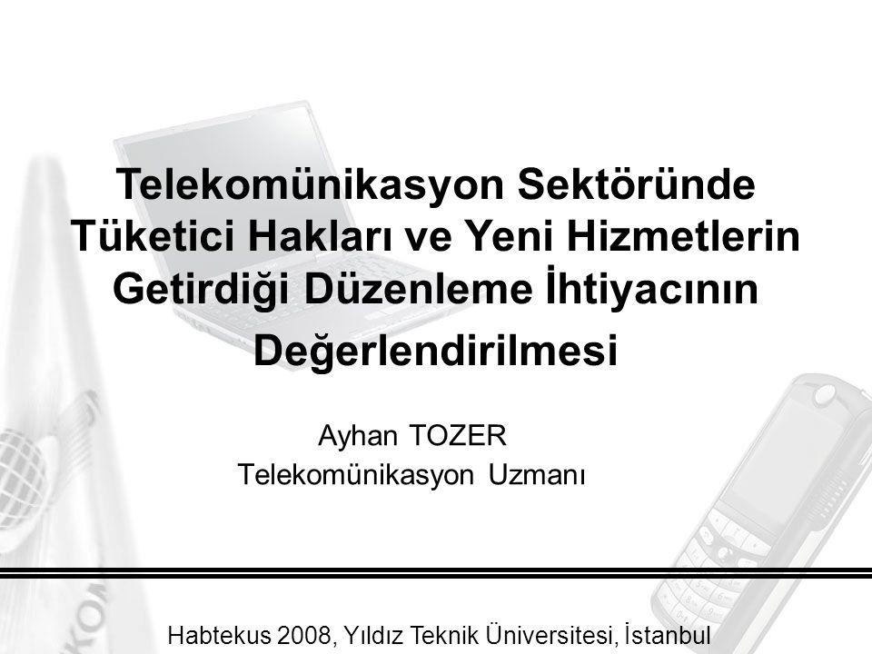 Ayhan TOZER Telekomünikasyon Uzmanı