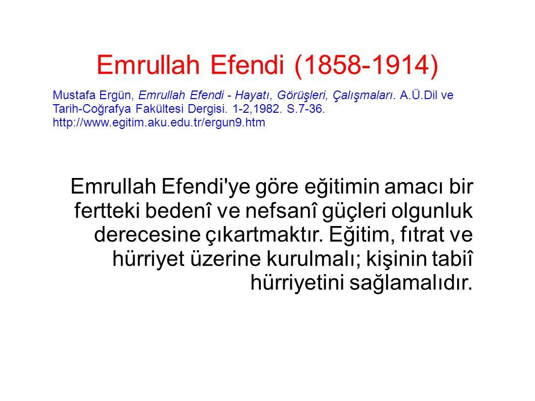Emrullah Efendi (1858-1914)