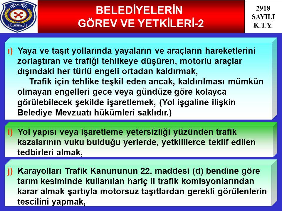 BELEDİYELERİN GÖREV VE YETKİLERİ-2