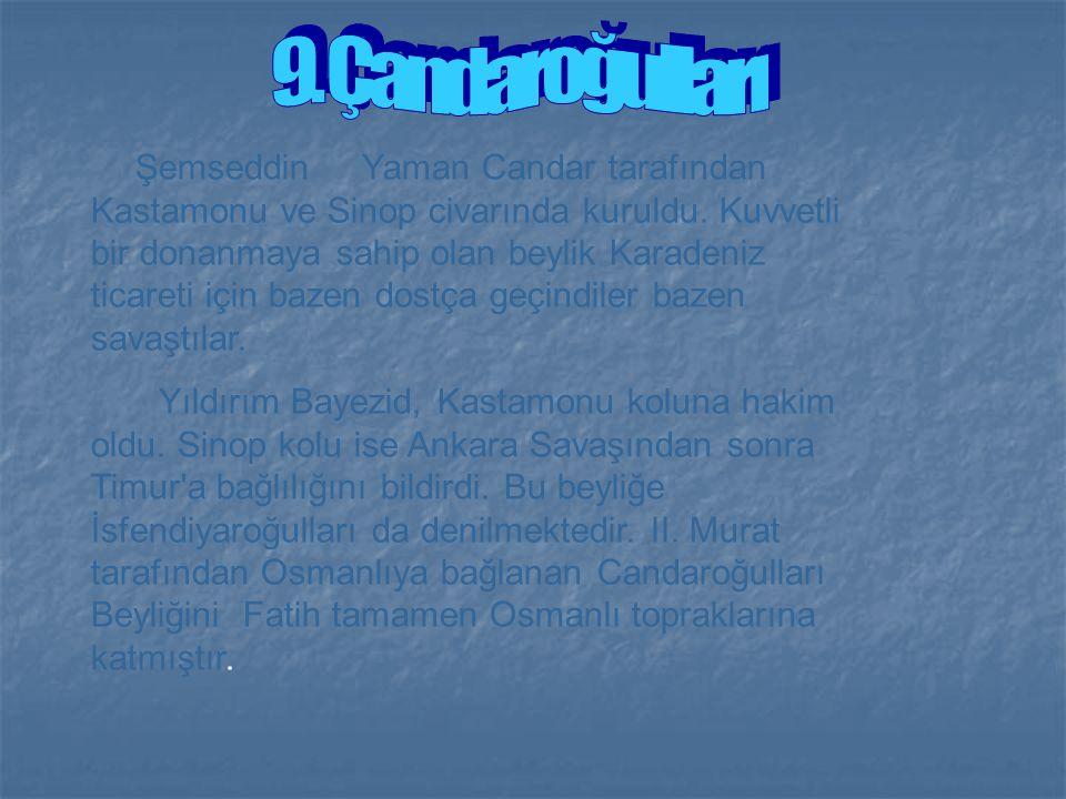 9. Çandaroğulları
