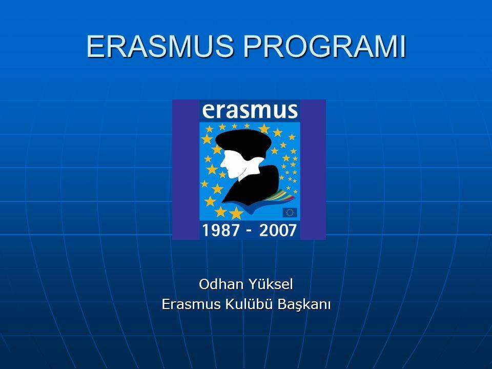 Erasmus Kulübü Başkanı