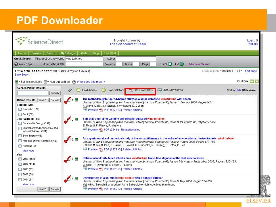 PDF Downloader