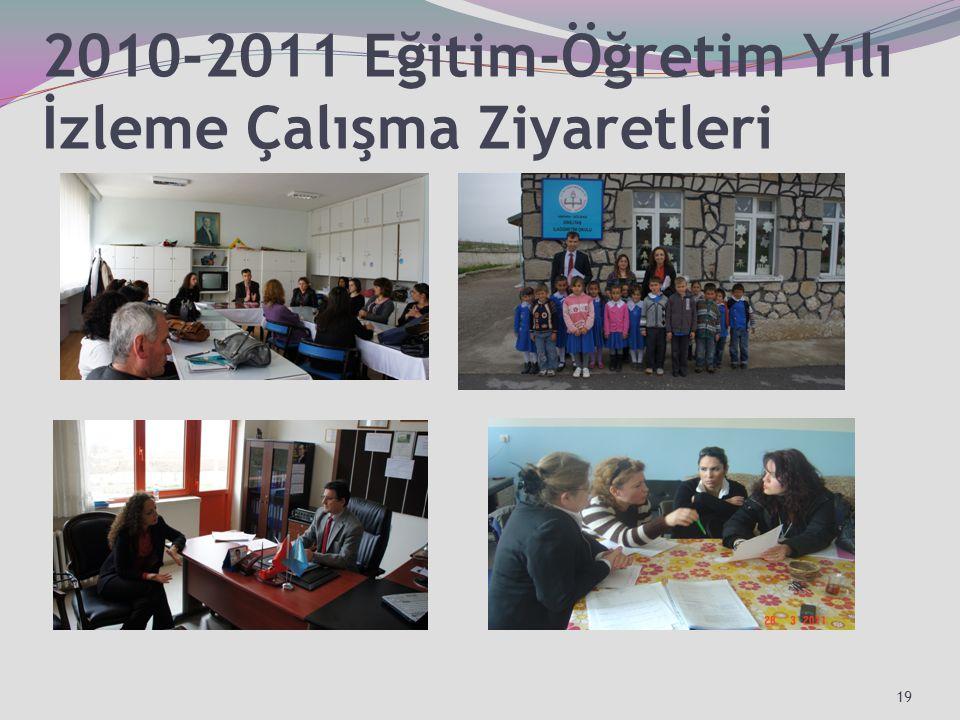 2010-2011 Eğitim-Öğretim Yılı İzleme Çalışma Ziyaretleri