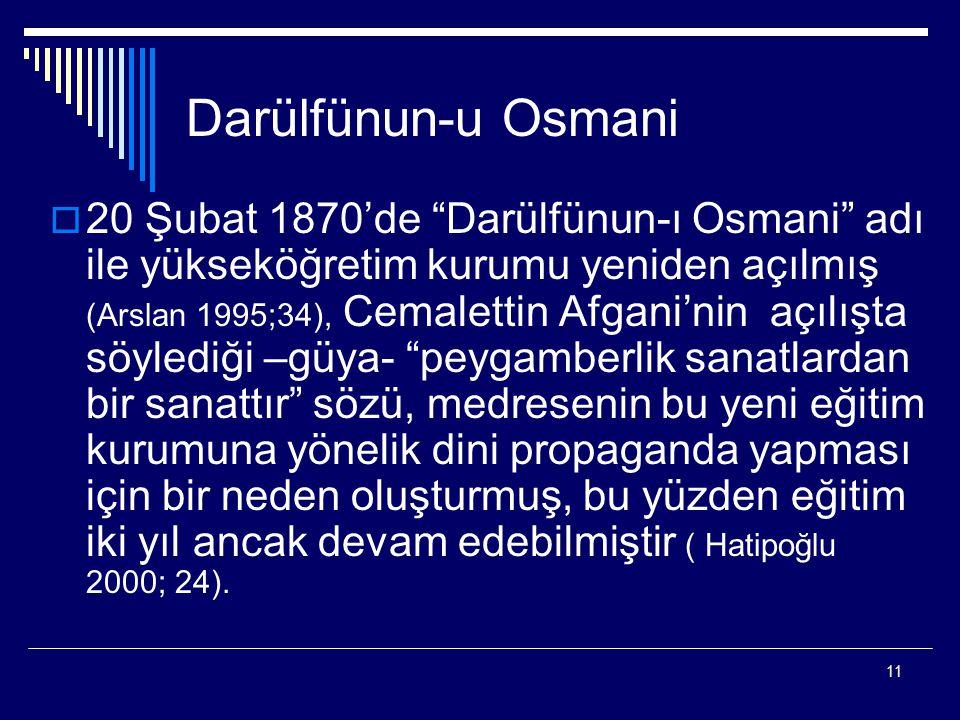 Darülfünun-u Osmani