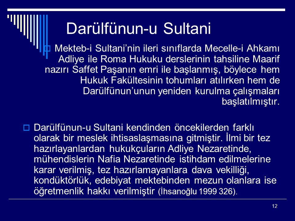 Darülfünun-u Sultani