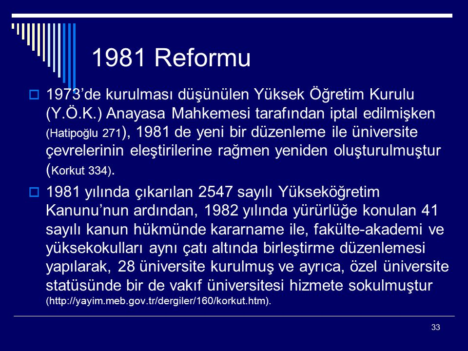1981 Reformu