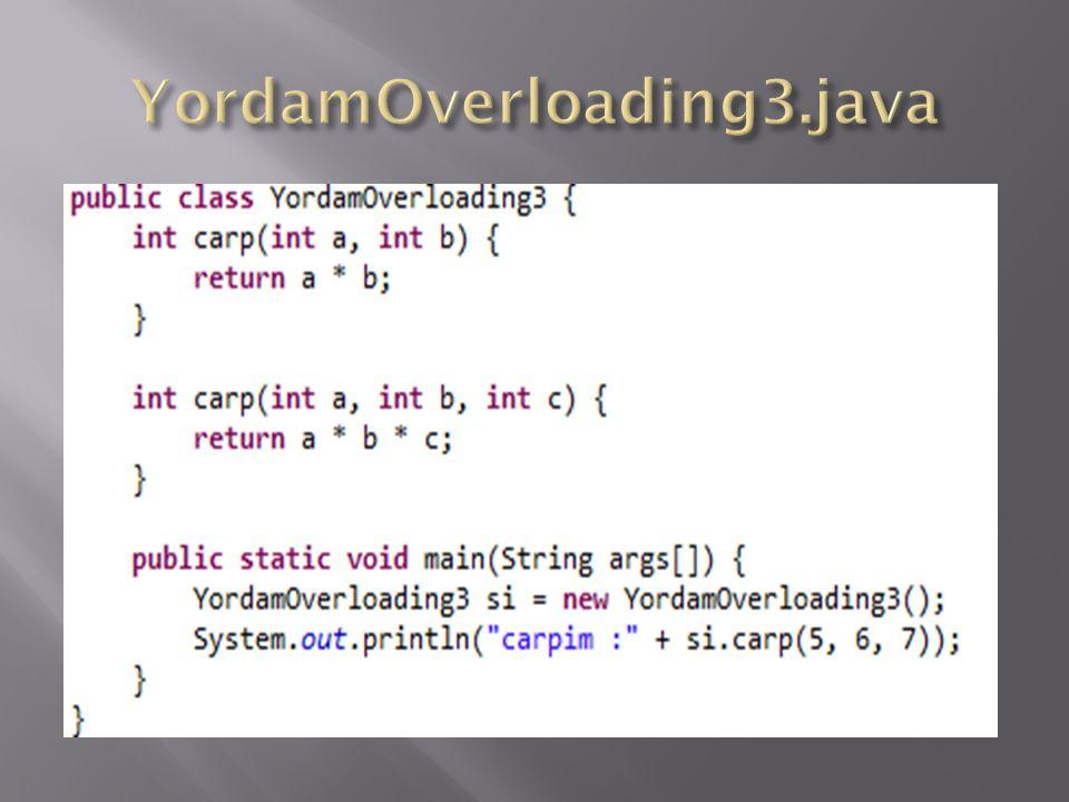 YordamOverloading3.java