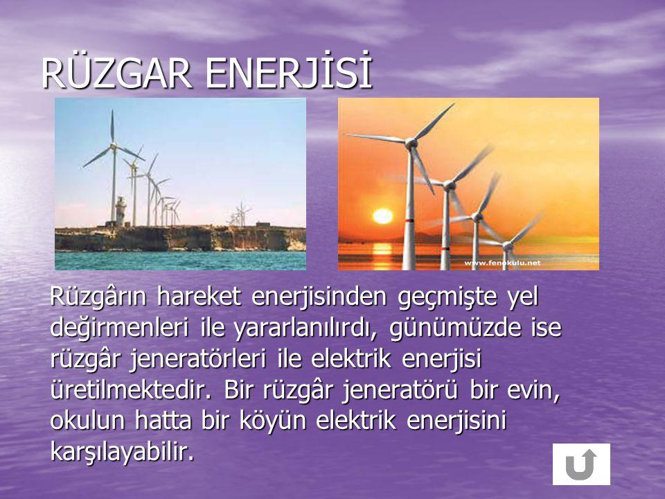 RÜZGAR ENERJİSİ