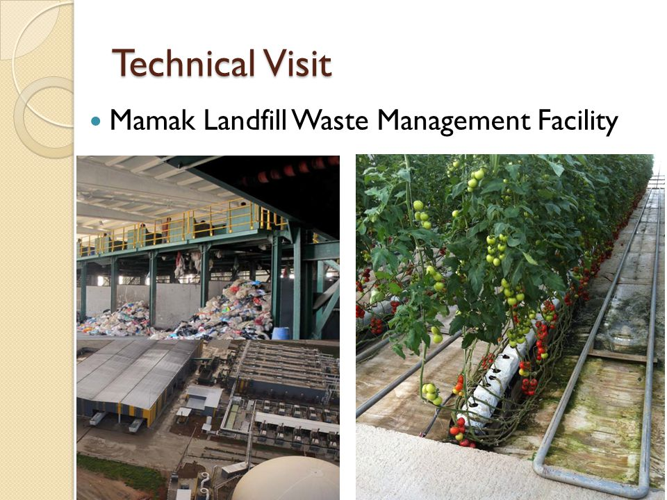 Technical Visit Mamak Landfill Waste Management Facility