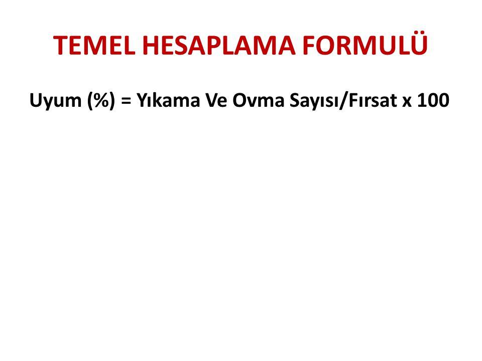 TEMEL HESAPLAMA FORMULÜ