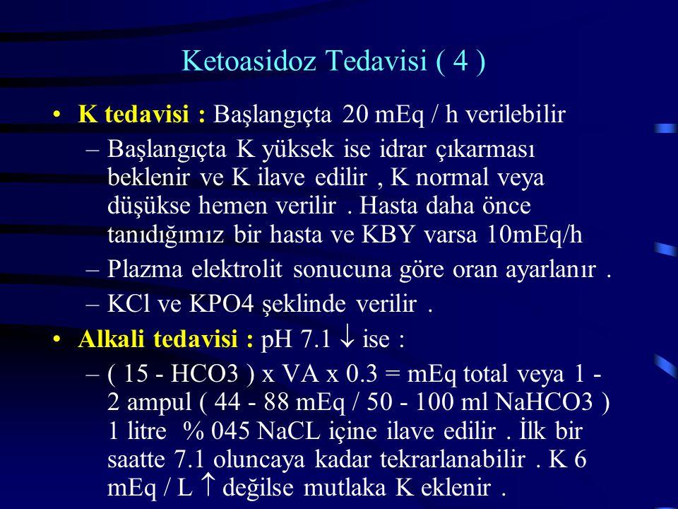 Ketoasidoz Tedavisi ( 4 )