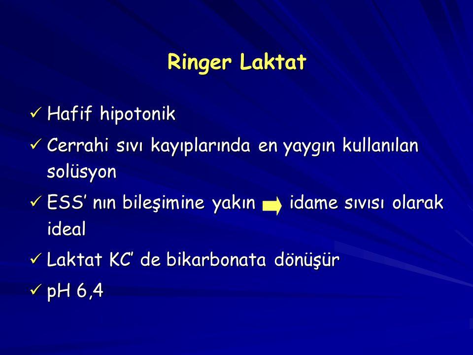 Ringer Laktat Hafif hipotonik