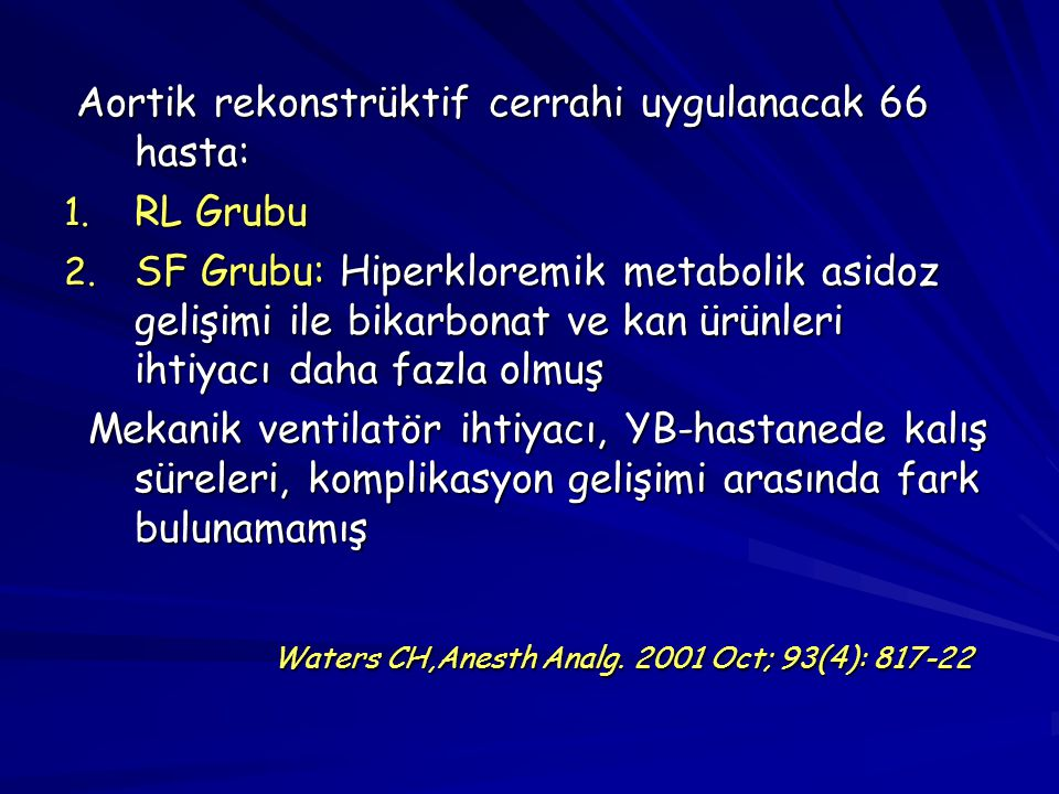 Waters CH,Anesth Analg. 2001 Oct; 93(4): 817-22