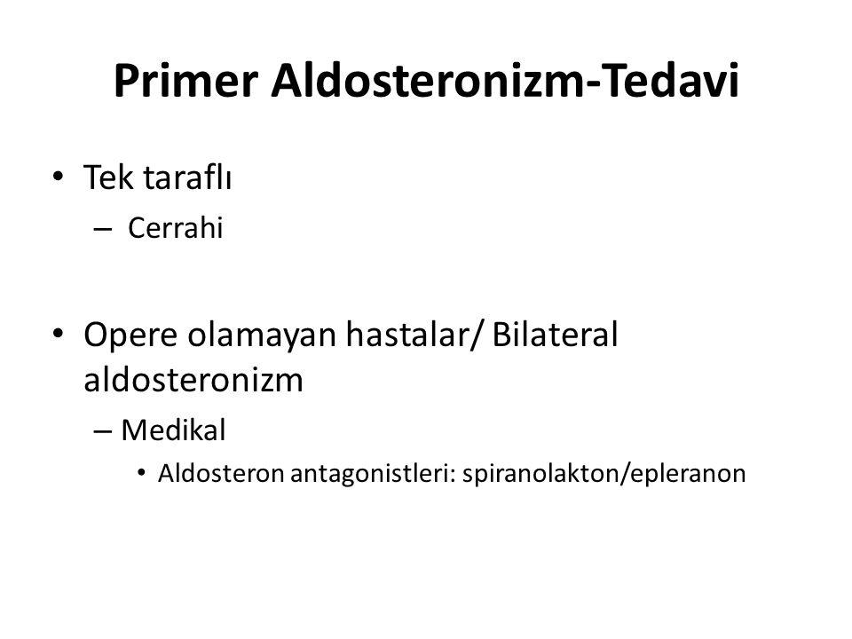 Primer Aldosteronizm-Tedavi