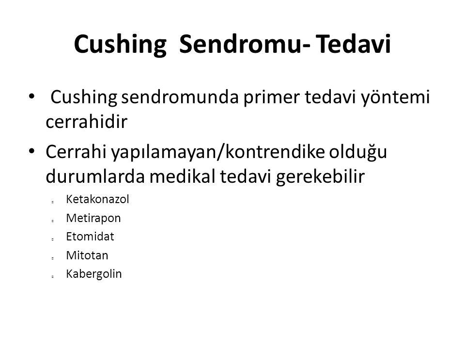 Cushing Sendromu- Tedavi