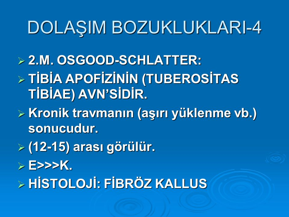 DOLAŞIM BOZUKLUKLARI-4