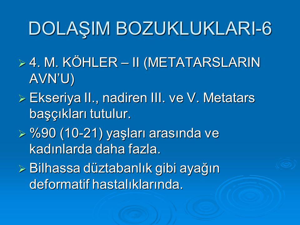 DOLAŞIM BOZUKLUKLARI-6