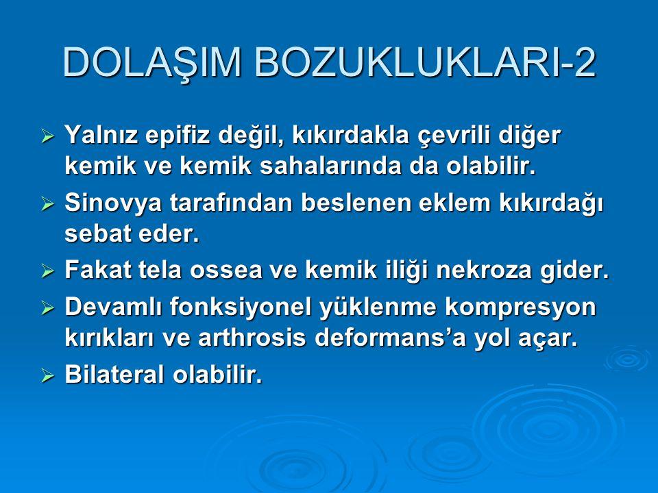 DOLAŞIM BOZUKLUKLARI-2