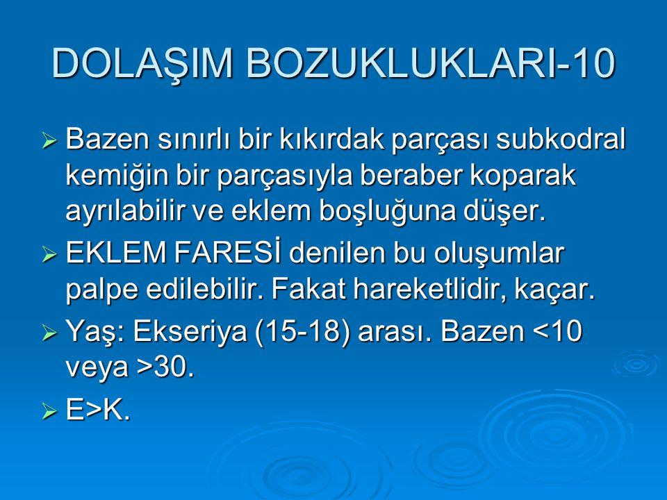 DOLAŞIM BOZUKLUKLARI-10