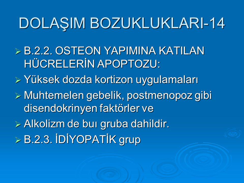 DOLAŞIM BOZUKLUKLARI-14
