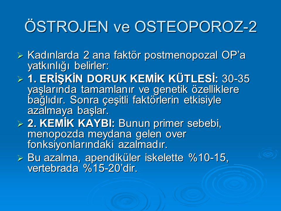 ÖSTROJEN ve OSTEOPOROZ-2