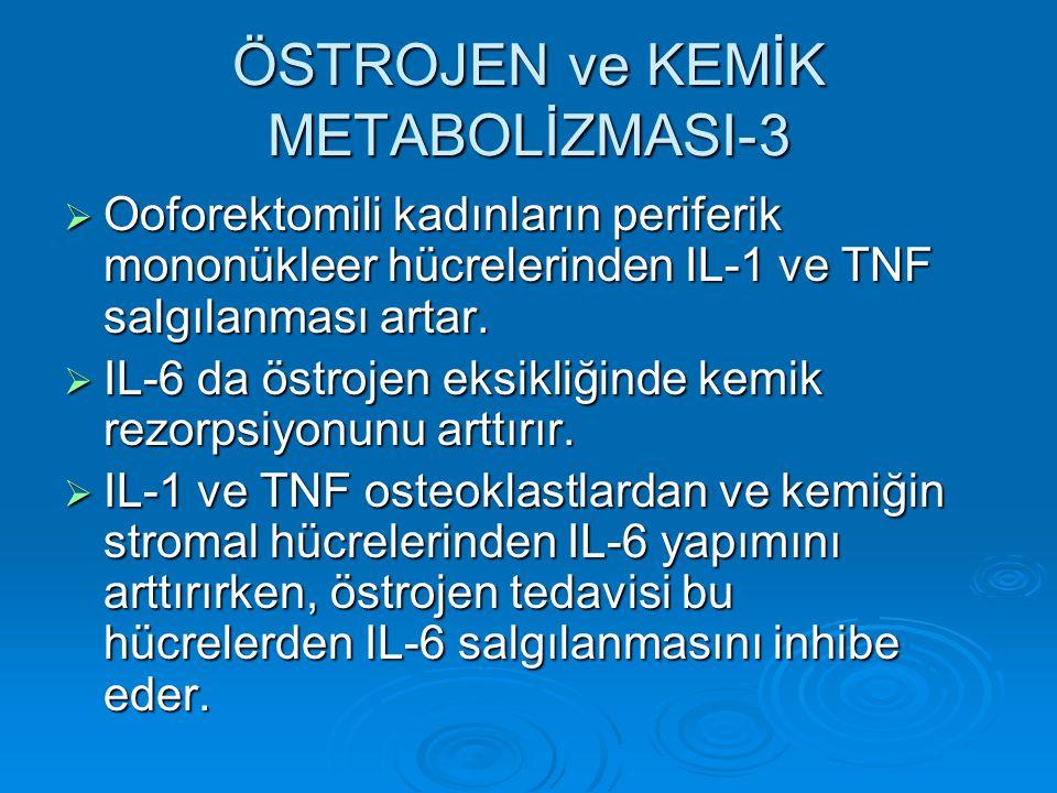 ÖSTROJEN ve KEMİK METABOLİZMASI-3