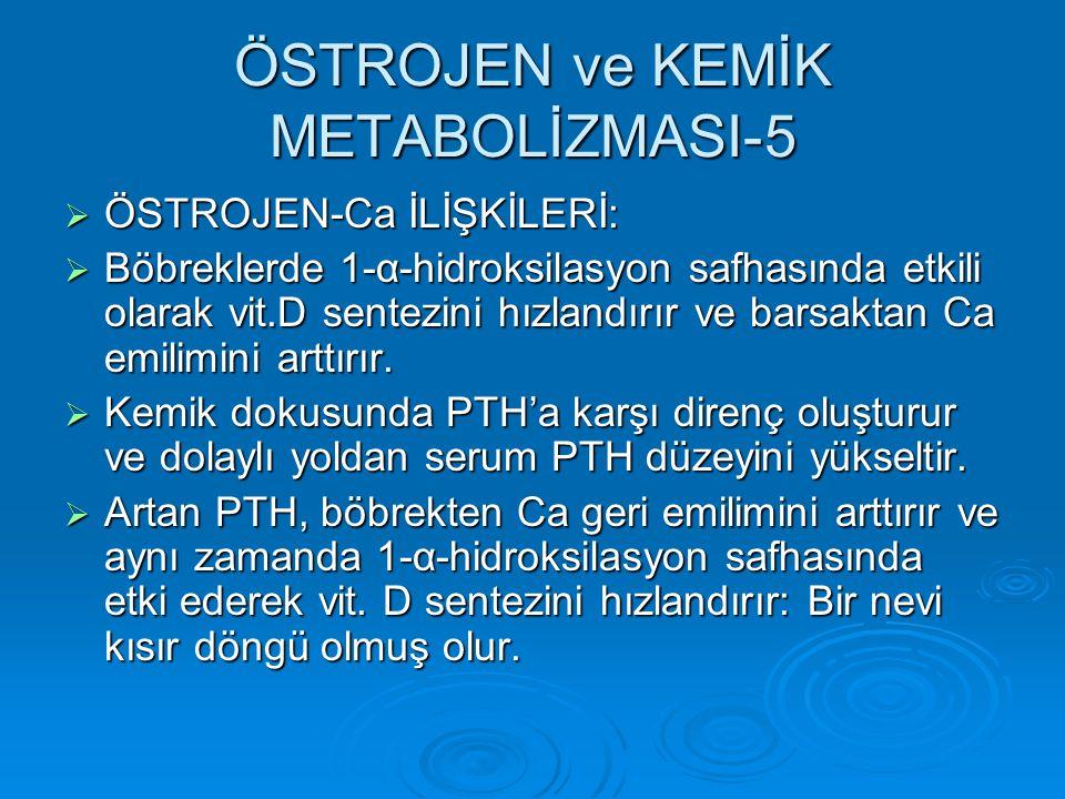 ÖSTROJEN ve KEMİK METABOLİZMASI-5