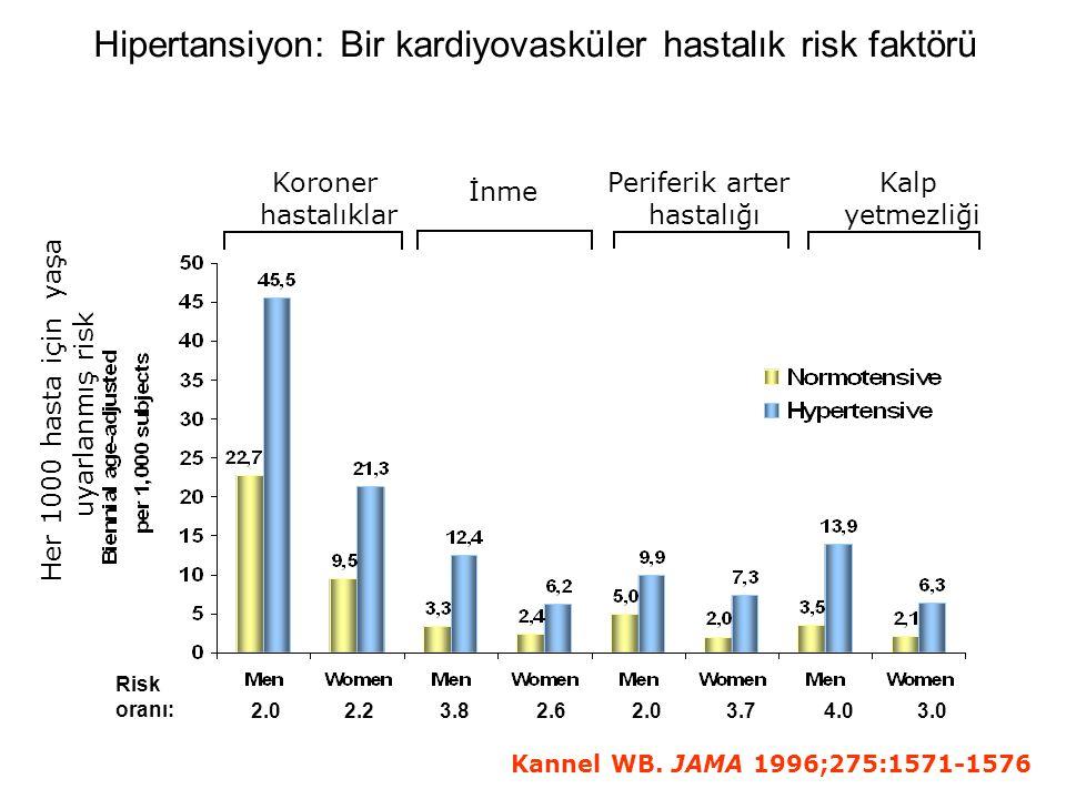Hipertansiyon: Bir kardiyovasküler hastalık risk faktörü