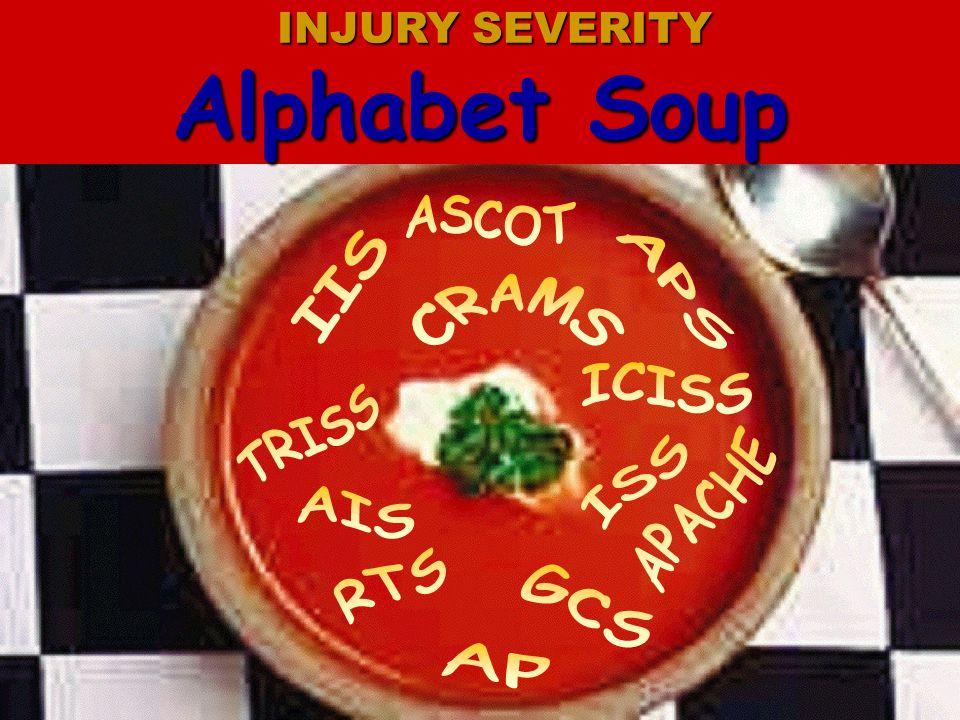 Alphabet Soup ASCOT IIS APS CRAMS ICISS TRISS ISS APACHE AIS RTS GCS
