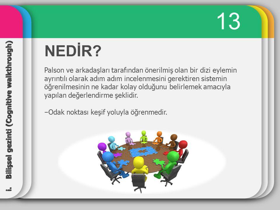 13 NEDİR