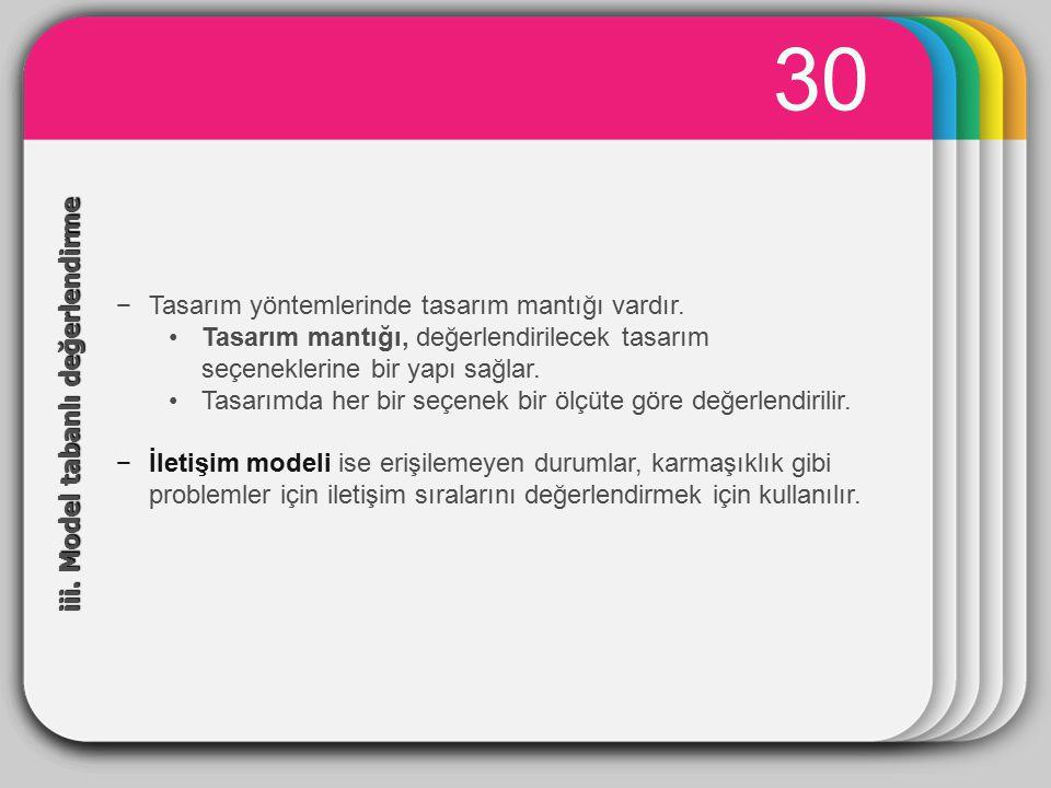 WINTER 30 Template iii. Model tabanlı değerlendirme