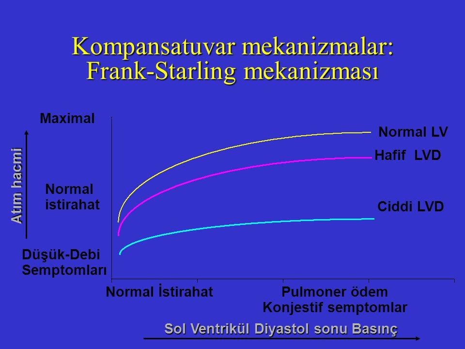 Kompansatuvar mekanizmalar: Frank-Starling mekanizması
