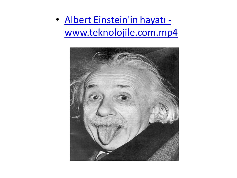 Albert Einstein in hayatı - www.teknolojile.com.mp4
