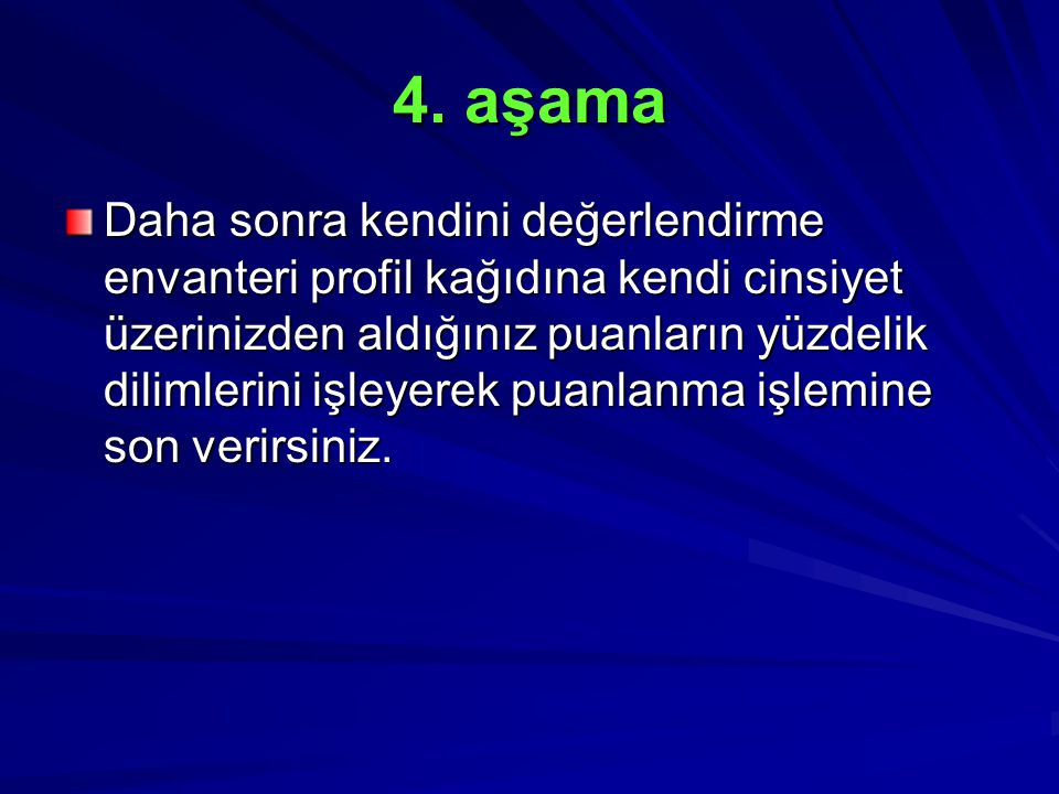 4. aşama